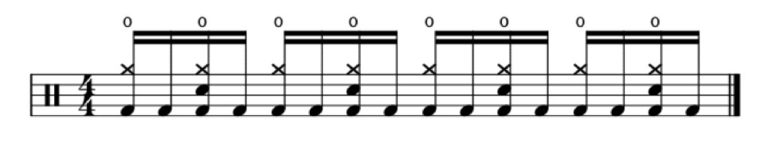 Motorhead Overkill Drum Transcription